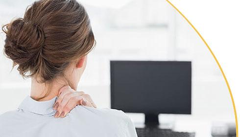 Massagesessel entspannter Rücken Massage Möbel Bettenstudio Siesta